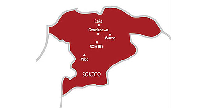 Map of Sokoto State.