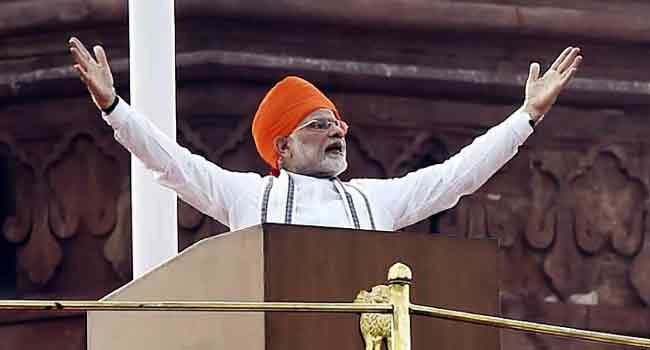 India To Send Manned Mission To Space By 2022 - Modi