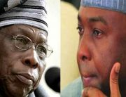 Obasanjo, Saraki Meet Behind Closed Doors