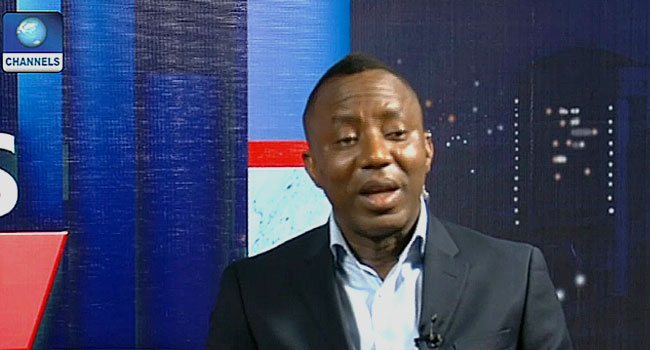 We Will Continue To Recognise Sowore As National Chairman Of The AAC – INEC