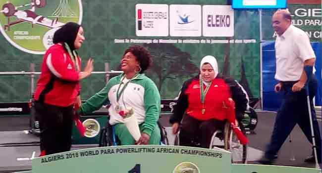Team Nigeria Dominate Para Powerlifting In Algiers
