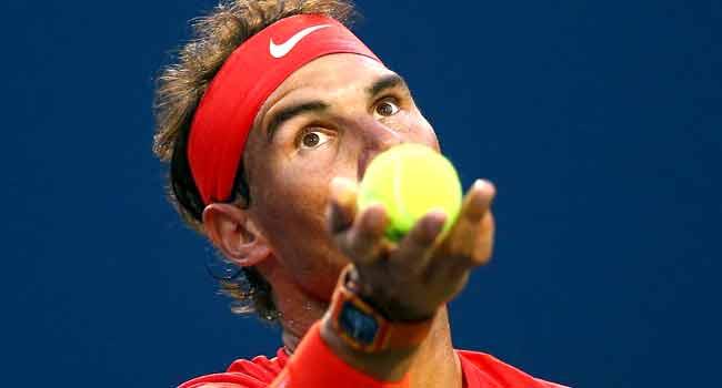 Nadal BeatsWawrinka ToReach Toronto Quarters