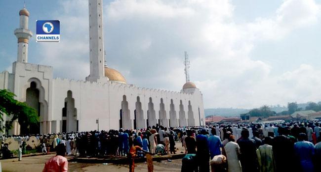 Muslims Celebrate Eid-El-Kabir