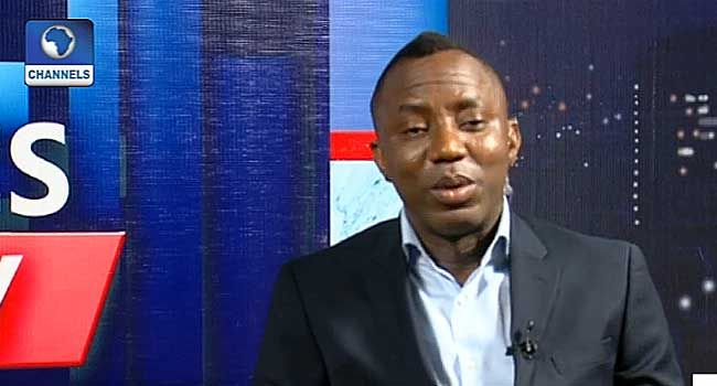 APC Doesn't Deserve Re-election, PDP Is Dead – Sowore
