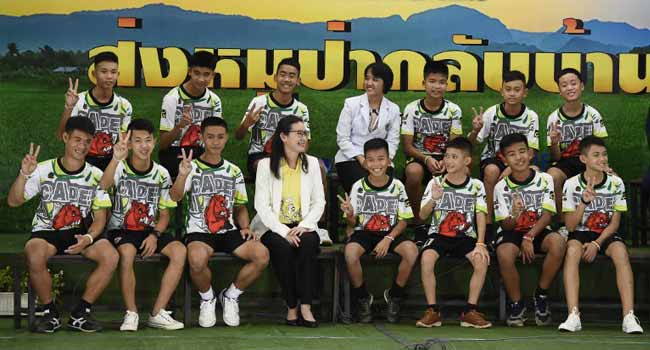 Rescued Cave Footballers Granted Thai Citizenship