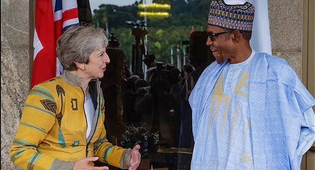 I'm All Out For Credible Elections, Buhari Tells Theresa May