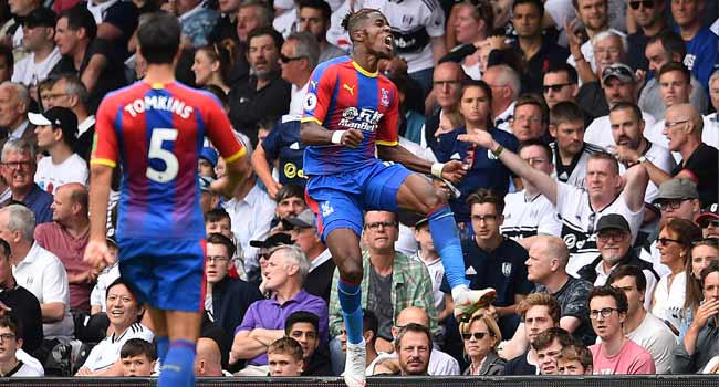 Cote D'Ivoire Star Zaha Commits To Palace