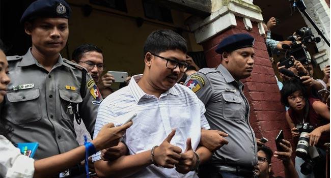Myanmar Court Postpones Verdict For Reuters Journalists