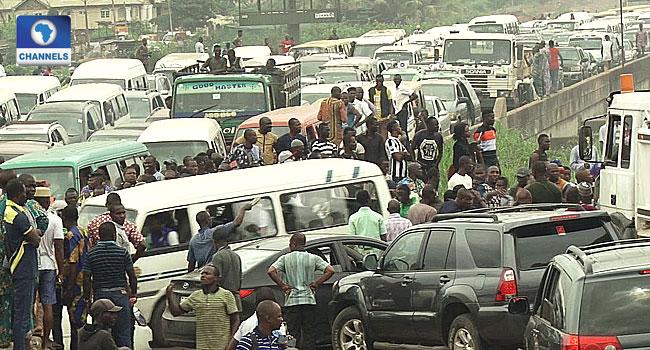 Tanker Accident Causes Gridlock On Lagos-Ibadan Expressway