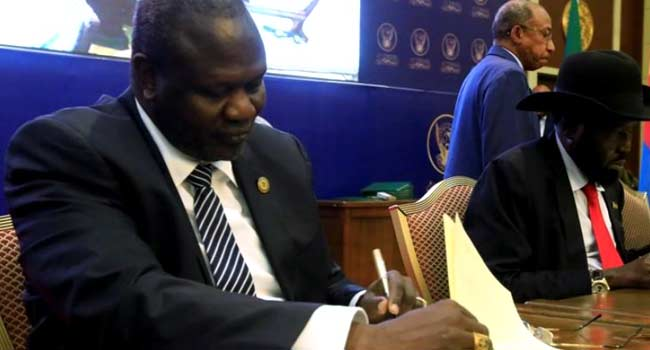 South Sudan Government, Rebels Reach Peace Deal
