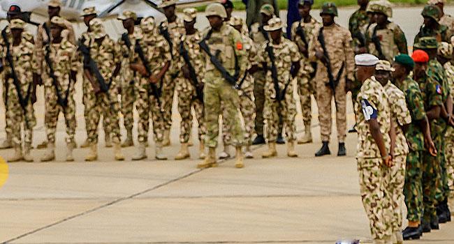 Yuletide: Buratai Advises Troops To Maintain Good Fighting Spirit