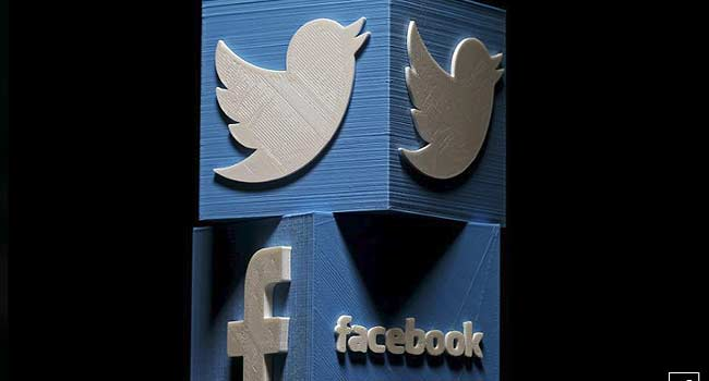 Russia Fines Facebook, Twitter Over Banned Content
