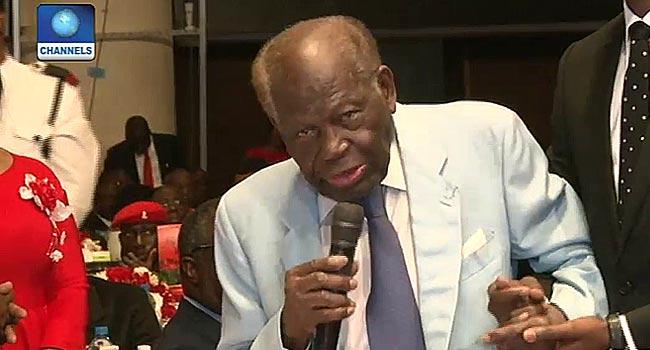 'Nigeria Will Always Be Proud Of You,' Buhari Tells Akintola Williams At 100