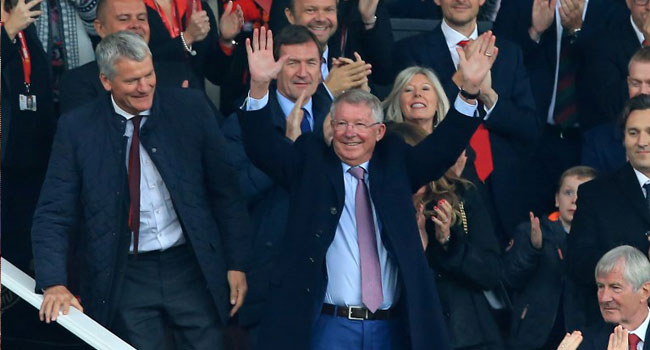 Ferguson Returns To Manchester United For First Time Since Brain Surgery
