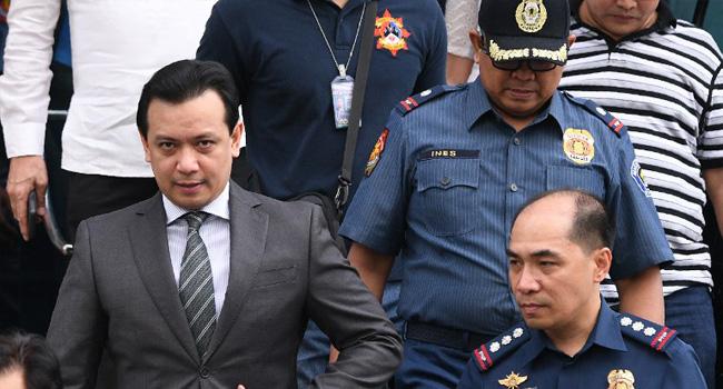 Philippine Arrests Senator Critical Of Duterte