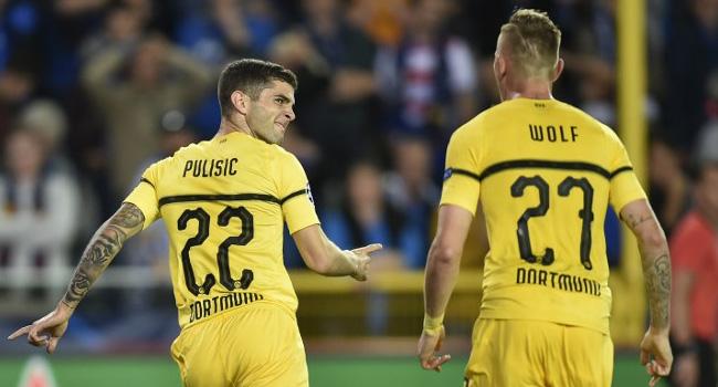 Birthday Boy Pulisic Seals Dortmund Win At Brugge