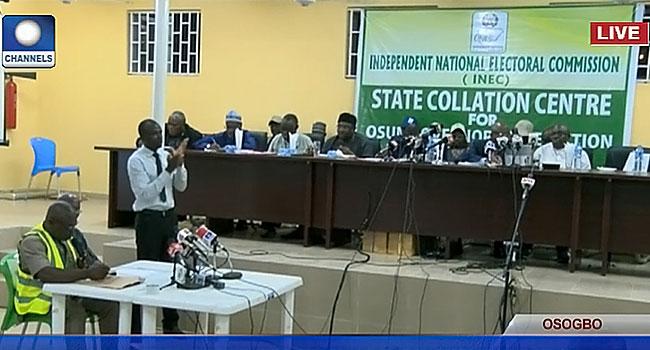 INEC Declares Osun Governorship Election Inconclusive #OsunDecides #OsunDecides2018