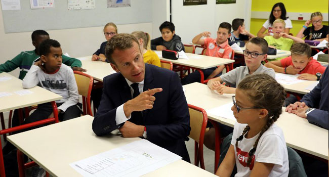 Phone Ban Rings In New French School Year