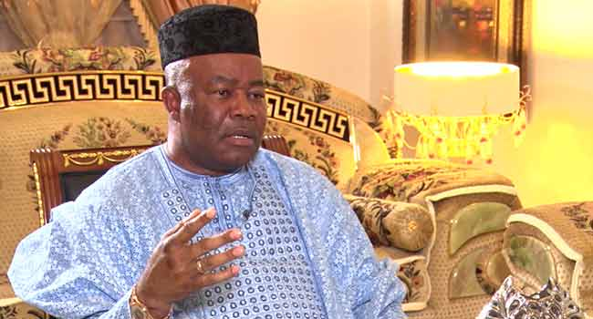 Akpabio Withdraws Application Seeking Review Of NASS Election At FCT High Court