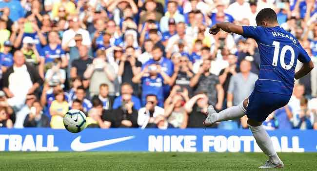Hazard's Hat-Trick Sees Chelsea Smash Cardiff