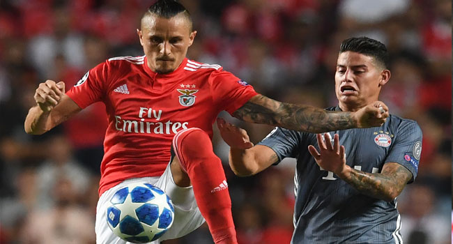 James Stars As Bayern Maintain Perfect Bundesliga Start