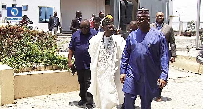 Information Minister, Lai Mohammed Visits Channels Television