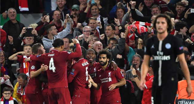 Super-Sub Firmino Hands Liverpool Victory Over PSG In Five-Goal Thriller