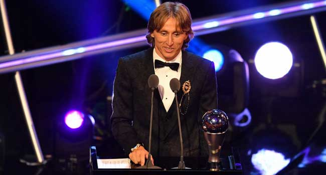 Modric Ends Ronaldo-Messi Era, Wins FIFA Best Player Of The Year Award