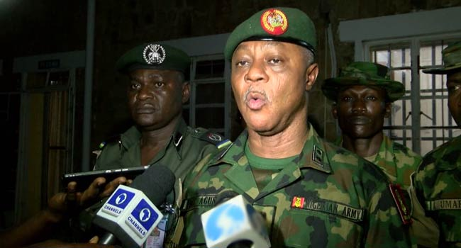 'Enough Is Enough,' Army Vows To Stop Killings In Plateau