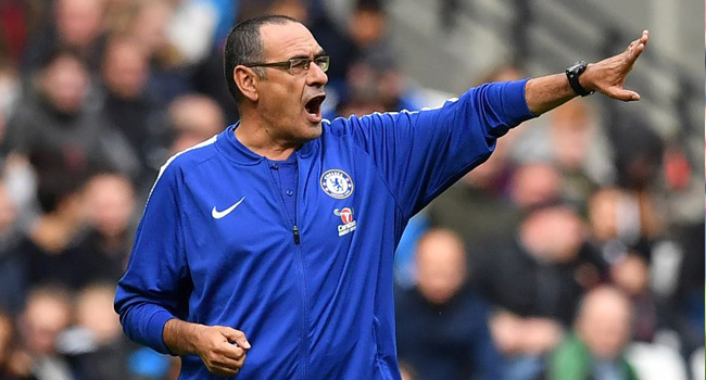 Chelsea Not In Premier League Title Race, Says Sarri
