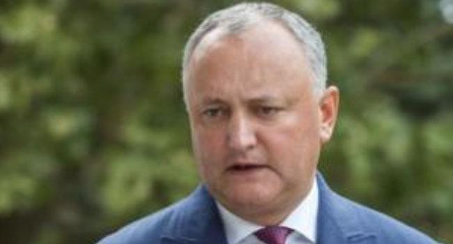 Moldova President Injured In Car Crash