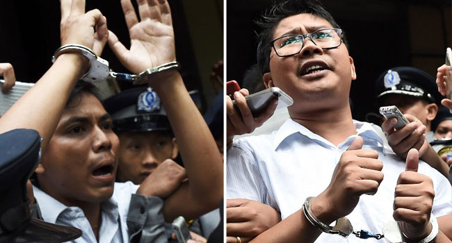 Myanmar's Supreme Court Rejects Appeal By Reuters Journalists