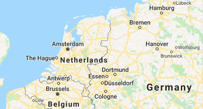 House Collapses In Suspected Gas Blast In Dutch City