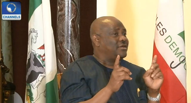 Wike Accuses EFCC Of Engaging In A Witch-Hunt Against Opposition Politicians