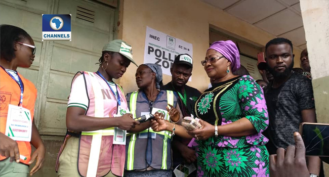 OsunDecides: APC's Oyetola, Wife Vote