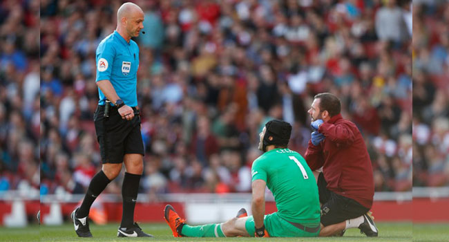 Emery Fears Cech Will Be Out For Three Weeks