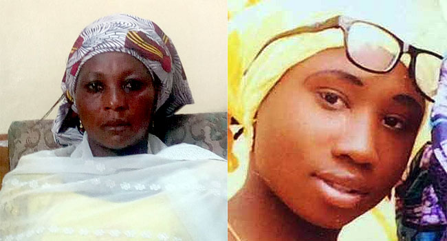 Again, Leah Sharibu's Mother Begs FG To Rescue Her