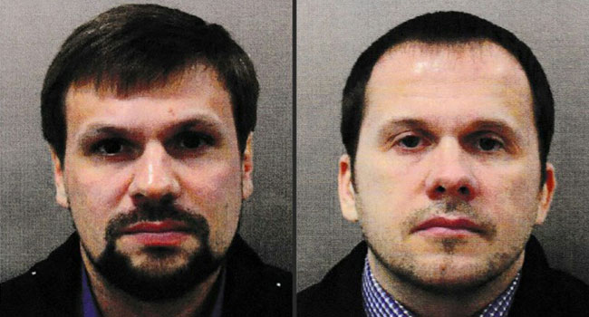 Skripal Poisoning Suspects Claim They Were Tourists