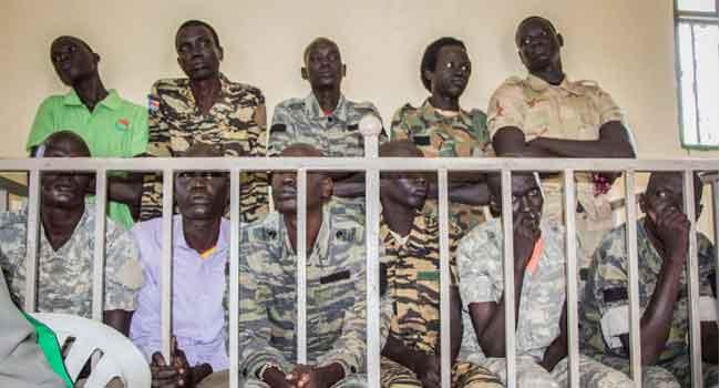 South Sudan Troops Jailed For Rape, Murder