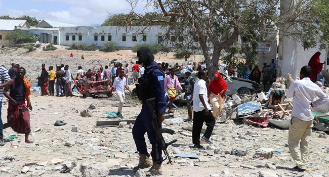 Suspected Car Bomb Hits Somali's Govt Office