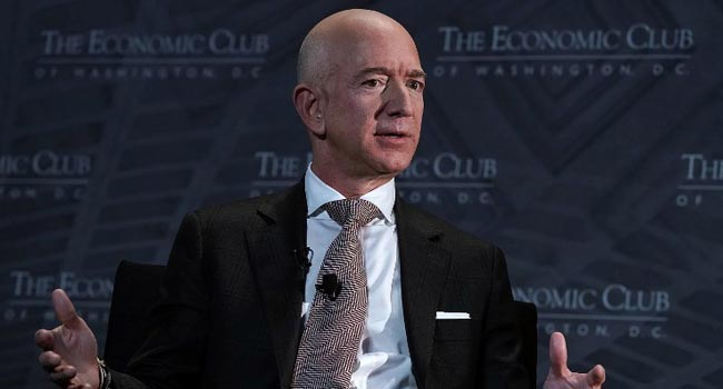 Amazon Boss Calls Trump's Attacks On Media 'Dangerous'