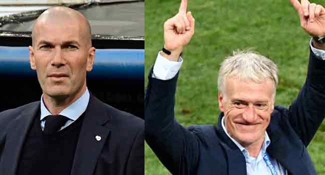 Zidane, Deschamps Nominated For FIFA Best Coach Award