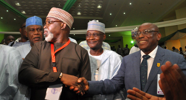 BREAKING: AMAJU PINNICK RE-ELECTED AS NFF PRESIDENT