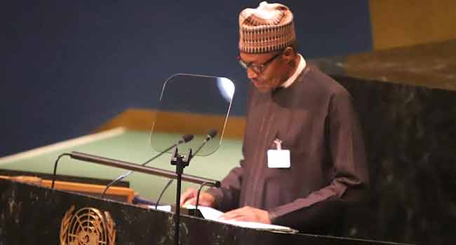 President Muhammadu Buhari's Address At UN General Assembly (Full Speech)