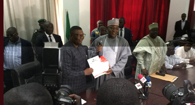 Dogara Submits PDP Expression Of Interest, Nomination Forms