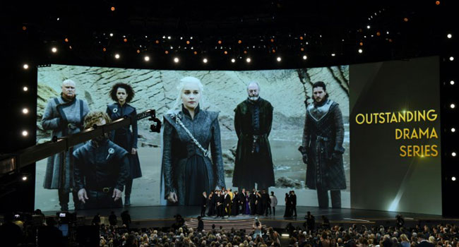 Game Of Thrones' Takes Top Prize At Emmys
