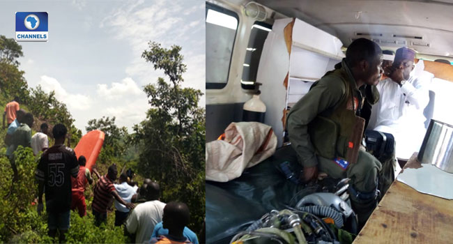 Pilot Dies As NAF Aircraft Crash In Abuja