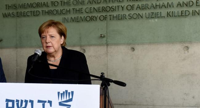 Germany Has 'Everlasting Responsibility' To Combat Anti-Semitism – Merkel