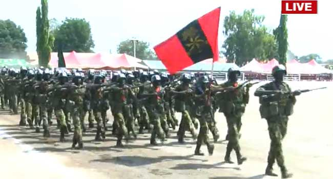 Show Of Gallantry As Army Passes Out Graduands – Channels Television