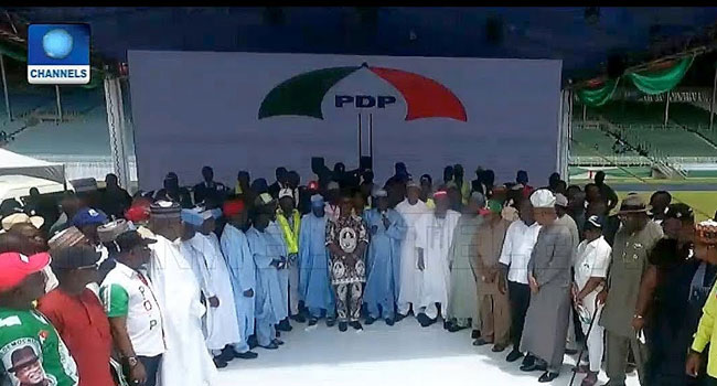 We Should Proffer Solutions To Nigeria's Challenges, Atiku Says In Acceptance Speech